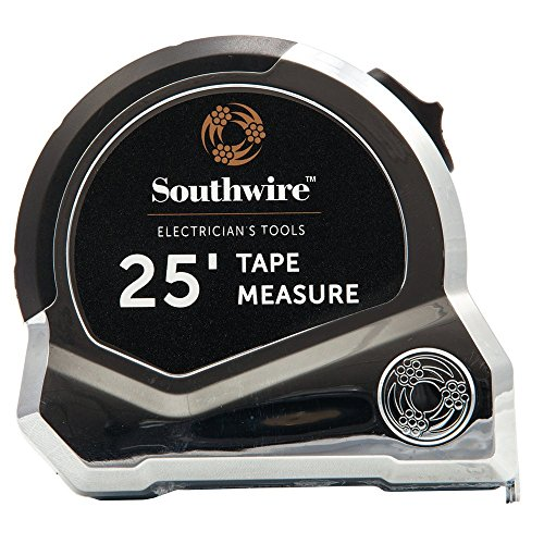 Southwire Tools & Equipment ETAPE Tape Measure with Conduit Hook, 25-Feet