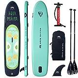 AQUA MARINA Super Trip Board mit 2 Stück Standard Paddel