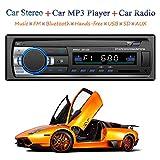Honboom Autoradio Bluetooth, 4x60W FM Radio Voiture 1 Din, Récepteur...