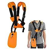 WEIBOND Trimmer Shoulder Stra - Grass Trimmer Harness Strap, Comfort Strap Double Shoulder Garden, Brush Cutter Lawn Mower Nylon Belt for STIHL FS