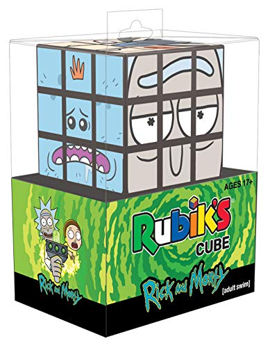 Rick and Morty Rubiks Cube