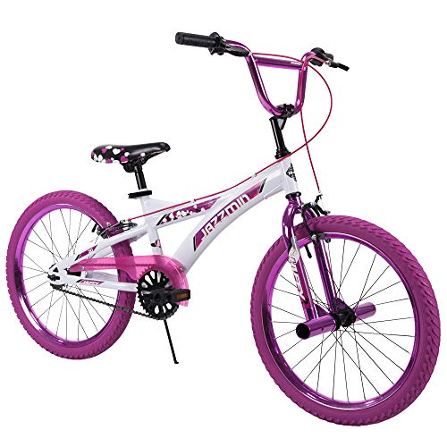 Huffy Bicycle Company 20' Huffy Jazzmin Girls' Bike, Ages 5-9, Rider Height 44-56'