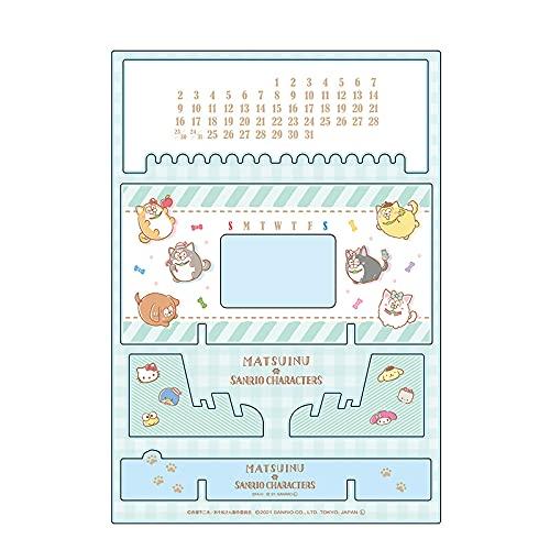 松犬×サンリオキャラクターズ アクリル万年カレンダー