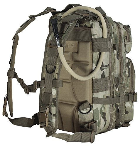 4MORELOVE Level III Assault Pack, Woodland Camo