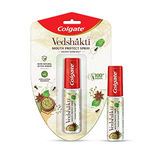 Colgate Vedshakti Mouth Protect Spray - 10gm,Pack of 1
