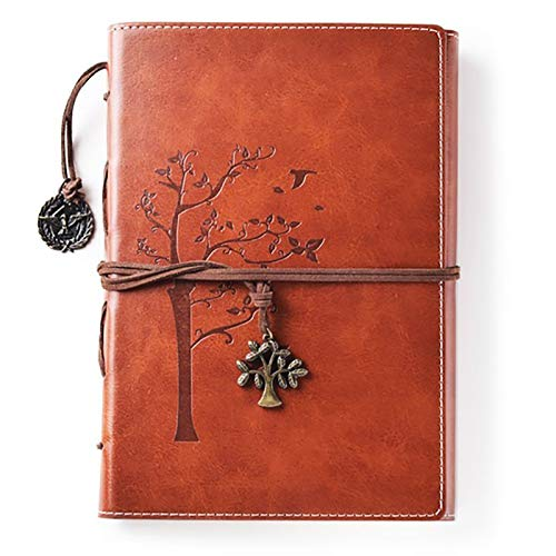 Lined Refillable Vintage Writing Journal for...