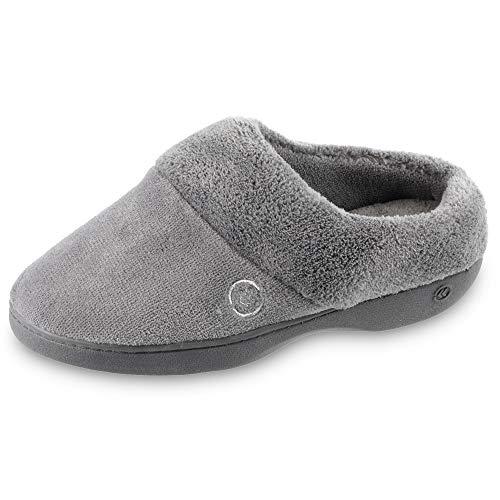 isotoner Women's Terry Slip In Clog, Memory Foam, Comfort...
