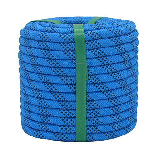 YUZENET Braided Polyester Arborist Rigging Rope (3/8' X 50') Strong...