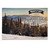 Man'Stuff by Technic Coffret cadeau 24 jours de l'Avent pour homme Calendrier Collection de produits de toilette pour homme Kit de toilettage de Noël