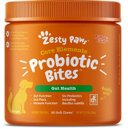 Zesty Paws Probiotic for Dogs - Probiotics for Gut...