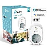 TP-Link Kasa HS100 (EU) funktionieren mit Amazon Alexa Smart Home WLAN Steckdose (funktionieren mit Echo und Echo Dot, Google Home und IFTTT, Kein Hub erforderlich)