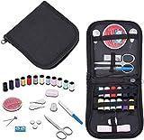 elloLife Travel Sewing Kit, Complet Mini Kit de Couture avec Boîte, Set de Couture pour la Maison, Les Voyages et Les Urgences