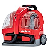 Rug Doctor Wherever They Occur Cleaner, Leading Portable Machine for Extracting Spots on Carpet, Rugs, Stairs, Upholstery and Auto Interiors, Removes Tough Stains and Neutralizes Odors, Small, Red