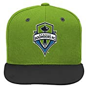 Officially licensed by MLS Small adidas logo Snap closure at back