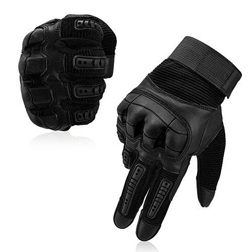 VBIGER Motorradhandschuhe Taktische Handschuhe Vollfinger Handschuhe für Motorrad Fahrrad Airsoft Militär Paintball