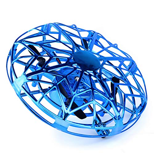 Daxoon UFO Fliegendes Spielzeug, Mesh UFO Ball Induktion Fernbedienung Flugzeuge Indoor Outdoor Fliegender Ball & Mini Quadrocopter Drohne,Für Jungen Mädchen Kinder Anfänger