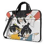 XCNGG Ranma Anime Laptop Hombro Messenger Bag Tablet Computadora Almacenamiento Mochila Bolso 14 Pulgadas
