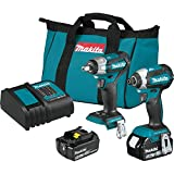 Makita XT284SX1 18V LXTLithium-Ion Brushless Cordless 2-Pc. Combo Kit (3.0Ah)