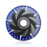 """SHDIATOOL 4-1/2 Inch Metal Cutting Diamond Blade All Purpose Cut Off Wheel for Rebar Sheet Metal Angle Iron Stainless Steel(for 7/8"""" Arbor)"""