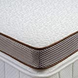 BedStory 3 Inch Memory Foam Mattress Topper, Cooling Gel Infused Toppers for Bed, Premium Mattress Pad with Removable Soft Cover, 2-Layer Ventilated Design & CertiPUR-US Certified Foam, Queen Size