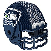 Build your favorite team's helmet Approximately 1325 Blocks Recommended for ages 12+ Features team colors and logos of your favorite team's helmet