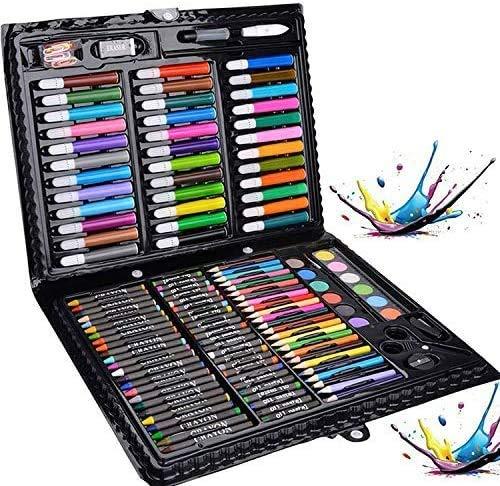 Legendog Penne Colorate, 150Pcs Impostato da Pittura Professionale per Bambini, Impostato di Pennarelli Deluxe, Impostato di Matite per Principianti (150PCS)