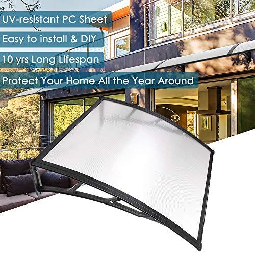 Yescom 39'x 39' Door Window Outdoor Awning Patio Cover UV Rain...