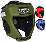 Ring to Cage USA Boxing Approved Competition Headgear - 3 Colors (Marine Green, Medium)
