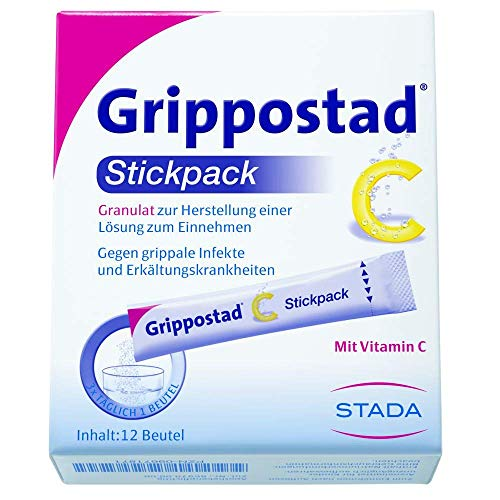 Grippostad C Stickpack Granulat, 12 St