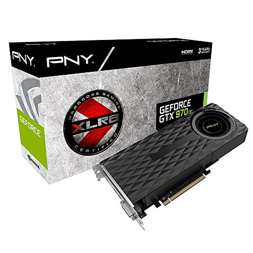 PNY GF970GTXBR4GEPB Scheda Grafica Nvidia GEFORCE GTX 970 4 GB (3.5GB+0.5GB) XLR8 OC PCI-Express
