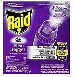 Raid Flea Flogger Kills Fleas and Hatching Eggs - 3 Foggers Included