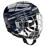 Bauer Prodigy Youth Hockey Helmet Combo (Navy)