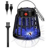 Moustique Tueur Lampe, Lampe Anti Moustique Électrique, UV Electrique Moustique Killer Lampe, Lampe Solaire...