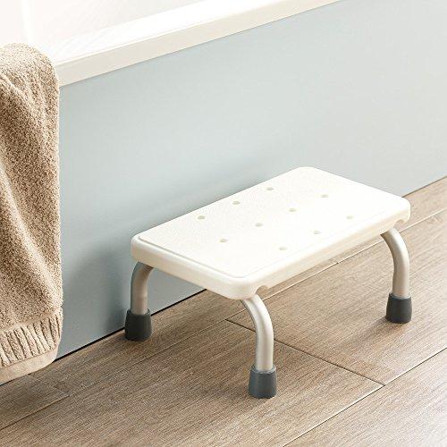 maxVitalis Tritthocker Bad Badstufe Badewanneneinstiegshilfe Einstiegshilfe Badewanne Badewannentritt für Senioren, Rutschhemmend, bis 100 kg