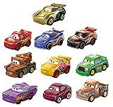Disney Pixar Cars mini-véhicules, pack de 10 petites voitures miniatures, jouet...