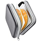 Bivisen CD Case, DVDS Wallet Holder, CD/DVD Case Wallet 40 Discs Heavy Duty Bag Binder Storage...