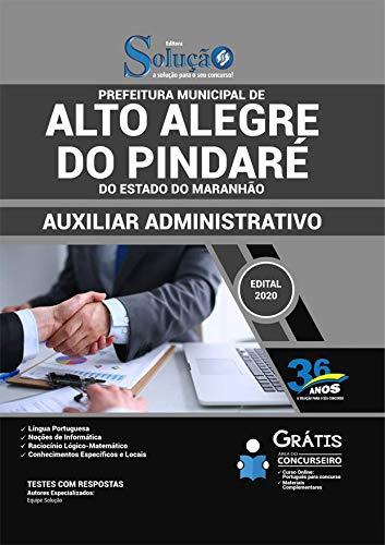 Folleto Alto Alegre do Pindaré - Asistente administrativo