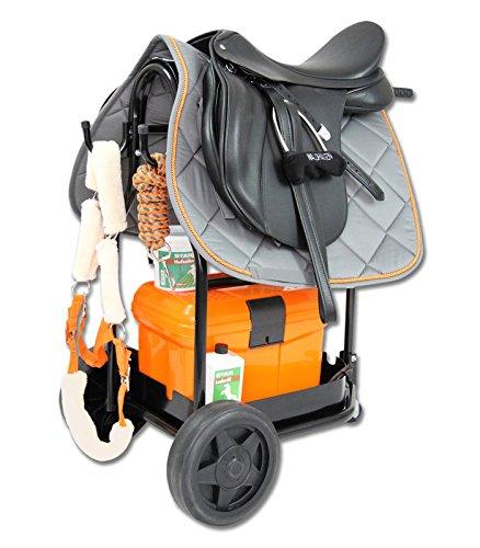WALDHAUSEN Stall-Carry Basket, schwarz