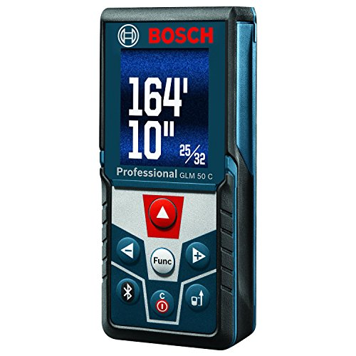 Bosch GLM 50 C Bluetooth Enabled Laser Distance Measure with Color Backlit...