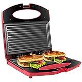 OZAVO Toaster Croque Monsieur 3 en 1 Appareil Panini Grill Antiadhésive...