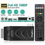 Decodeur TNT, DVB-T2 Pro Récepteur TNT HD Decodeur Terrestre Câble TV 1080P /...