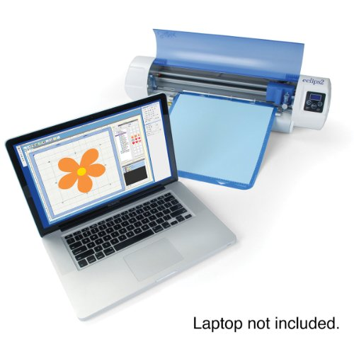 Sizzix Eclips2Electronic Electronic Cutter eCAL Lite, Includes 12 by...