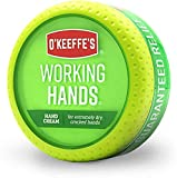 O'Keeffe's Working Hands Hand Cream, 3.4 Ounce Jar, (Pack 1)