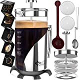 French Press Coffee Maker -...