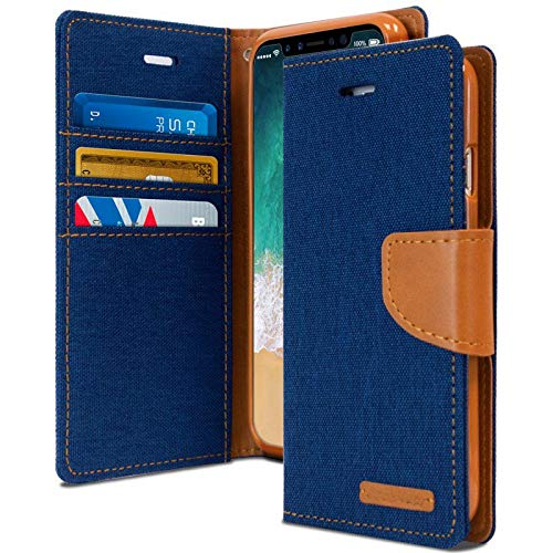 ClickCase Canvas Series, Cloth & Pu Leather Wallet...