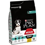 PRO PLAN Medium Puppy Sensitive Digestion avec OPTIDIGEST Riche en Poulet - 3 KG - Croquettes pour chiots de taille moyenne