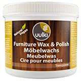 Uulki Furniture Polish Wood Wax Care for Interior Wood   Natural & Vegan Finishing Free from Beeswax (Clear, 500 ml)