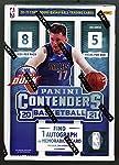 NBA Panini 2020-21 Contenders Basketball Trading Card BLASTER Box [8 Packs, 1 Autograph OR Memorabilia Card]