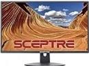 """Sceptre E248W-19203R 24"""" Ultra Thin 75Hz 1080p LED Monitor 2x HDMI VGA Build-in Speakers, Metallic Black 2018"""