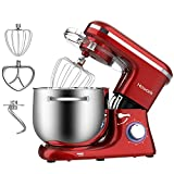 HOWORK Stand Mixer, 8.45 QT Bowl 660W Food Mixer, Multi Functional Kitchen Electric Mixer With Dough...